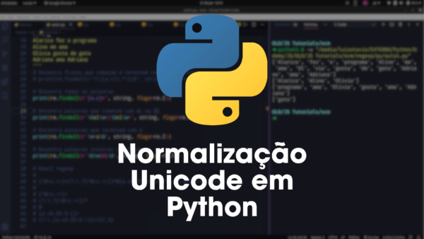 Normalização Unicode em Python